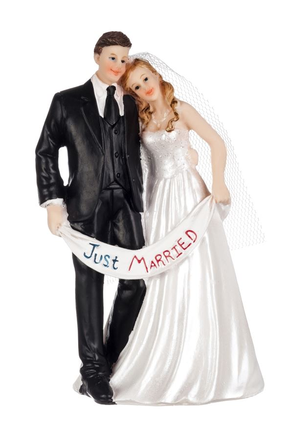 ˝Just married˝ pár